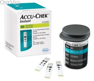 Accu-chek instant glucoseteststrip